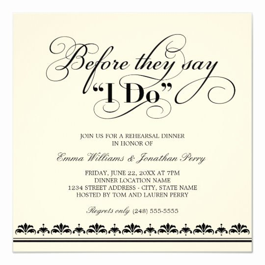 Wedding Rehearsal Dinner Invitation Template Awesome Wedding Rehearsal Dinner Invitation Wedding Vows