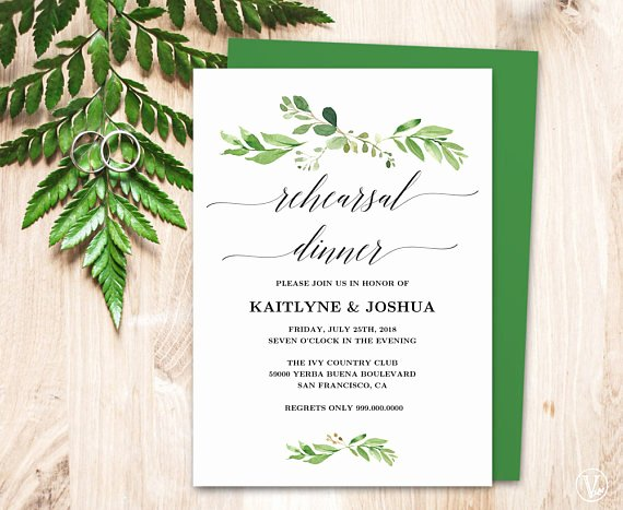 Wedding Rehearsal Dinner Invitation Template Inspirational Wedding Rehearsal Dinner Invitation Card Template Printable