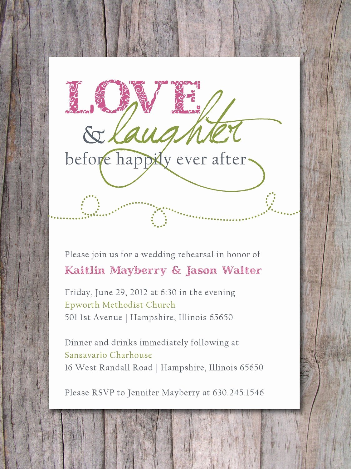 Wedding Rehearsal Dinner Invitation Template Luxury Rehearsal Dinner Invitation Happily Ever after by Pinch Spice