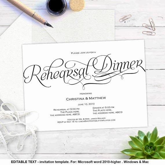 Wedding Rehearsal Dinner Invitations Template Beautiful Printable Invitation Templates Rehearsal Dinner Diy