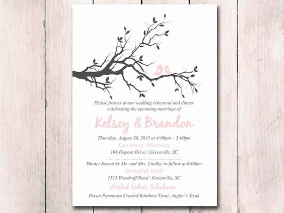 Wedding Rehearsal Dinner Invitations Template Luxury Rehearsal Dinner Invitation Template Printable Wedding