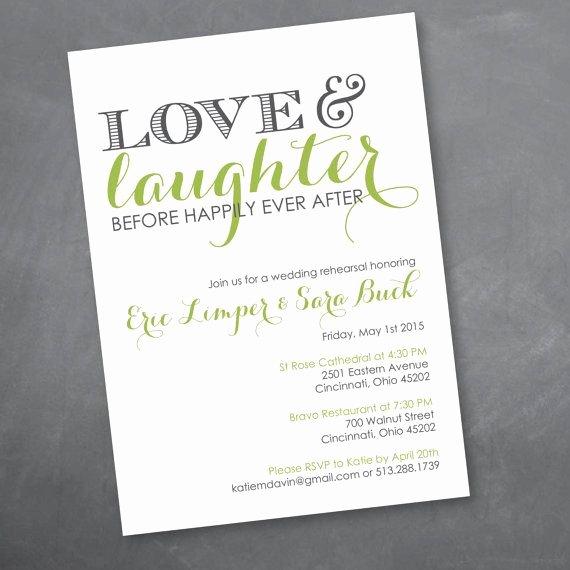 Wedding Rehearsal Dinner Invitations Template Unique Love and Laughter Rehearsal Dinner Invitation Digital