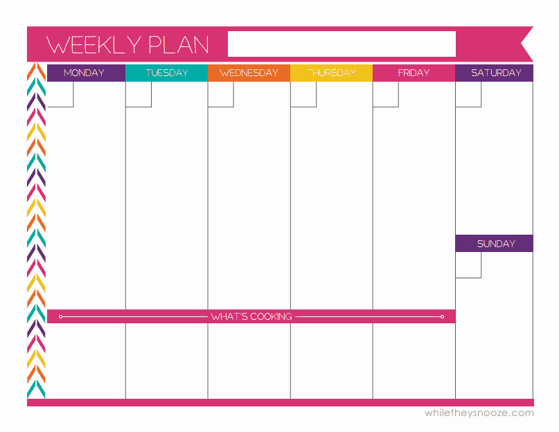 Weekly College Schedule Template Unique Finally after Searching Thru A Bunch Of Weekly Planners