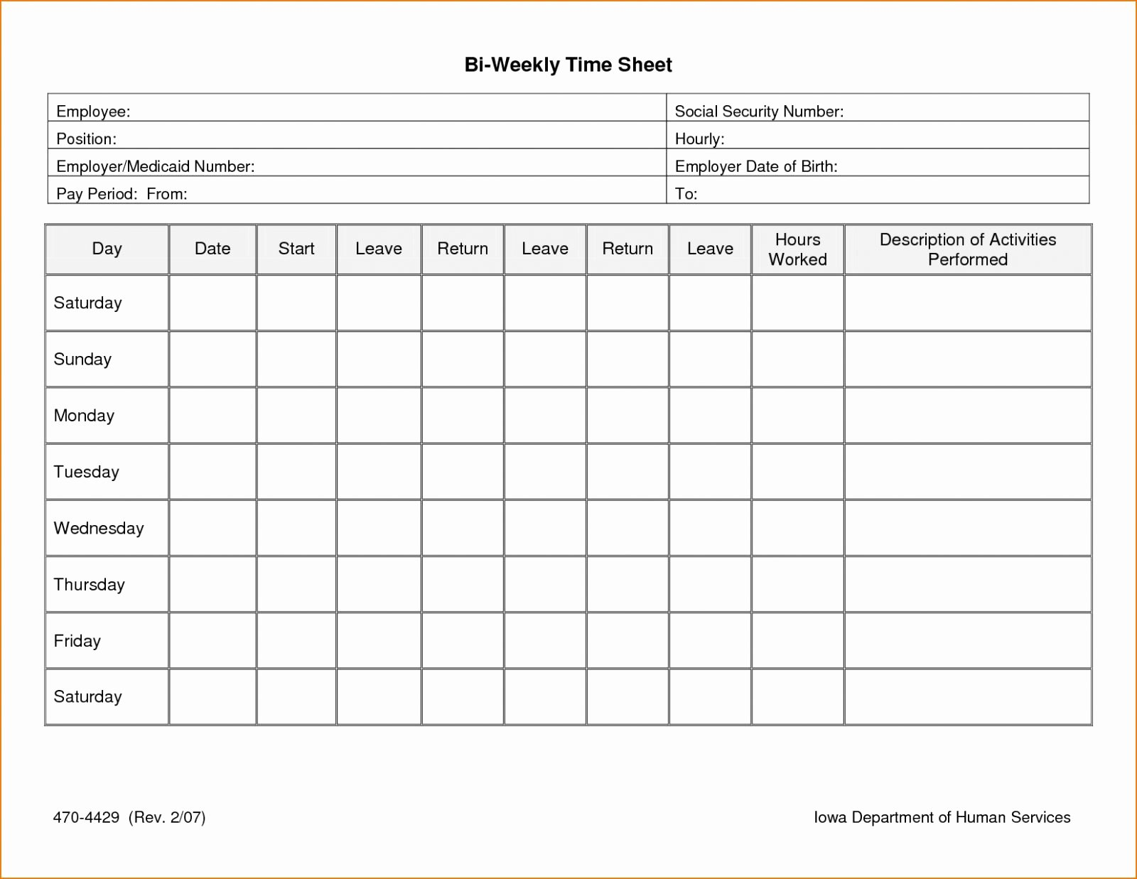Weekly Schedule Template with Hours Elegant Weekly Hours Spreadsheet Google Spreadshee Weekly Hour