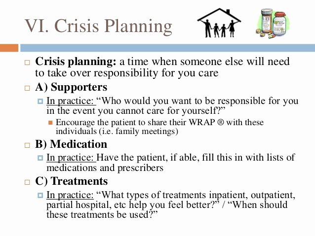 Wellness Recovery Action Plan Template Best Of Wellness Recovery Action Plan