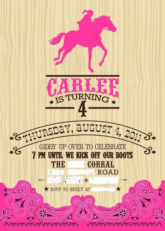 Western Party Invitation Template Awesome Western Invitation Template Free