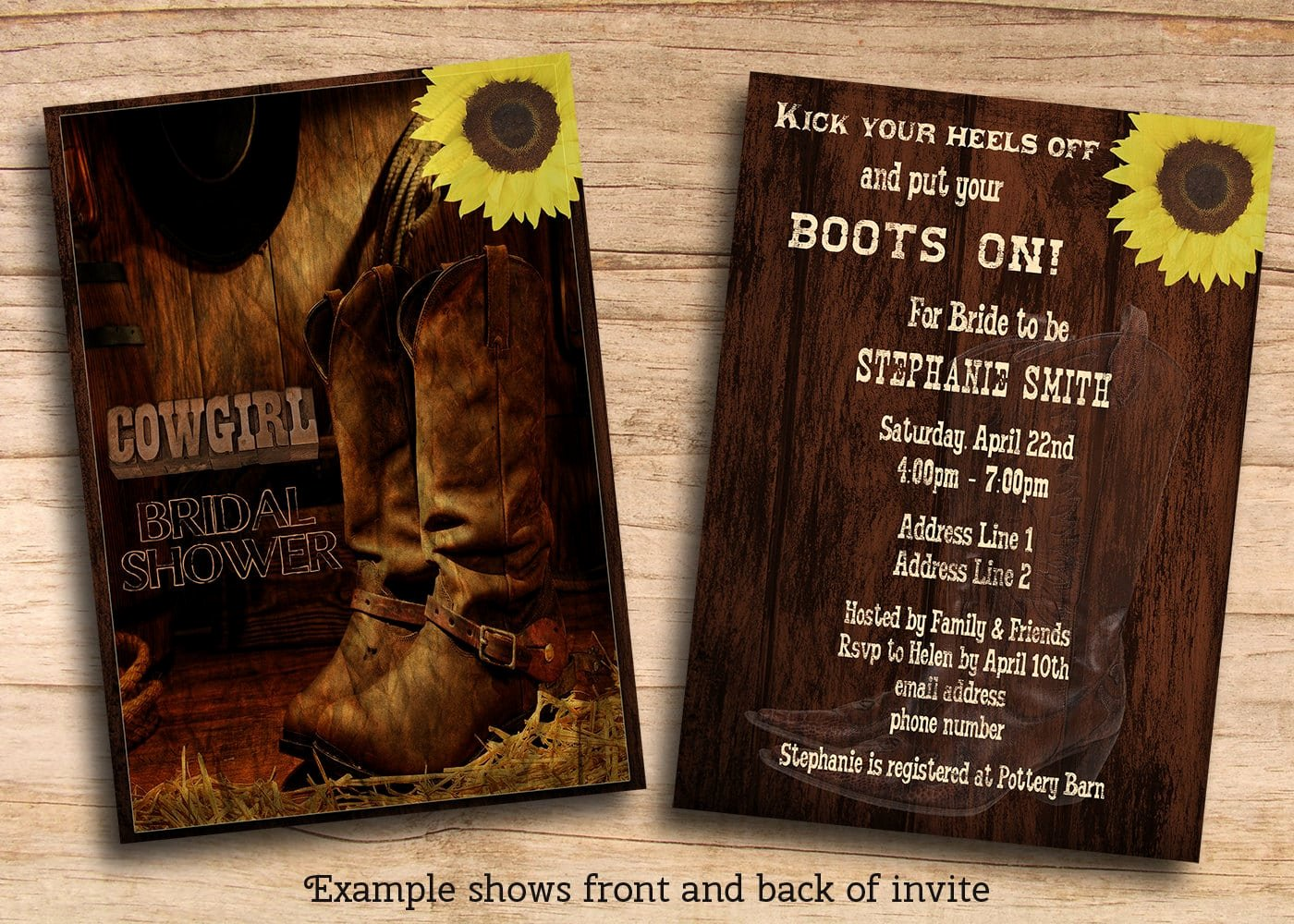 Western Party Invitation Template Beautiful Cowboy Party Invitations Templates