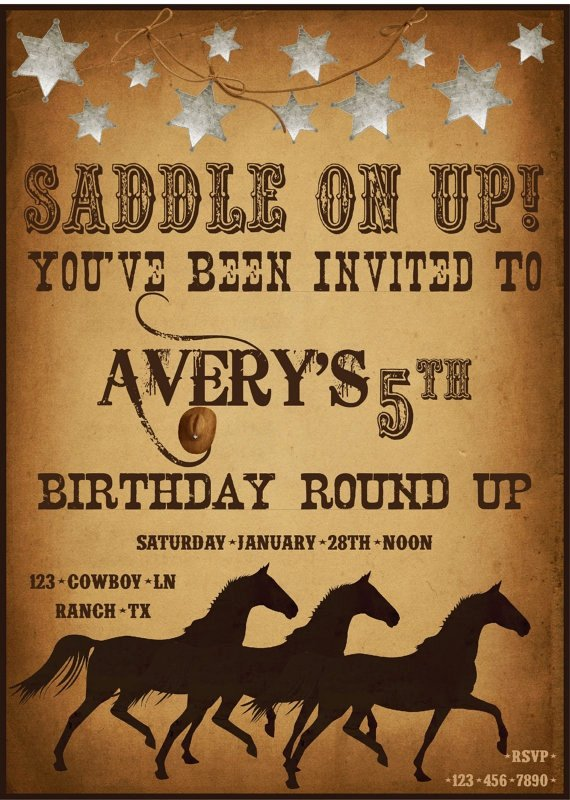 Western Party Invitation Template Elegant 165 Best Images About Country Western theme Party On