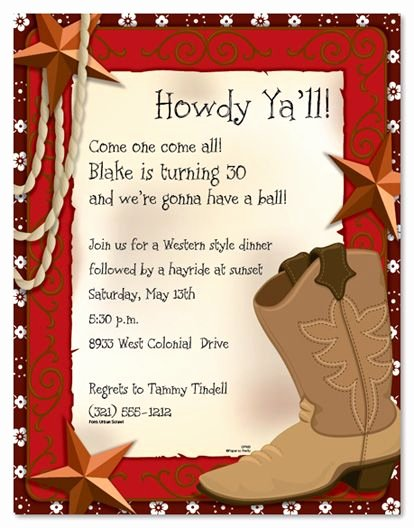 Western Party Invitation Template Elegant West Invites Clipart 20 Free Cliparts