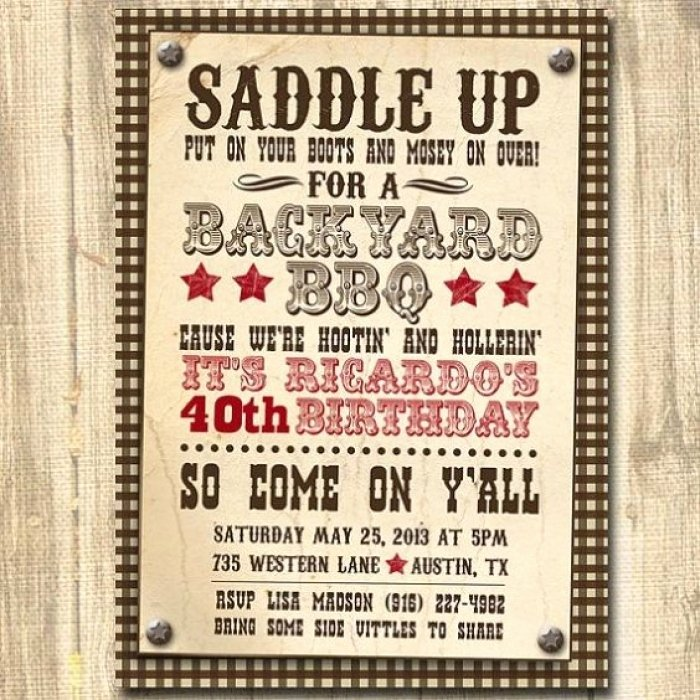 Western Party Invitation Template Lovely Awesome Country Western Party Invitation Templates Ideas