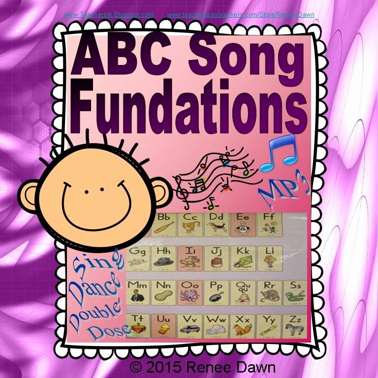 Wilson Fundations Lesson Plan Template Beautiful Abc song Mp3 Abc Chart Archived Pins
