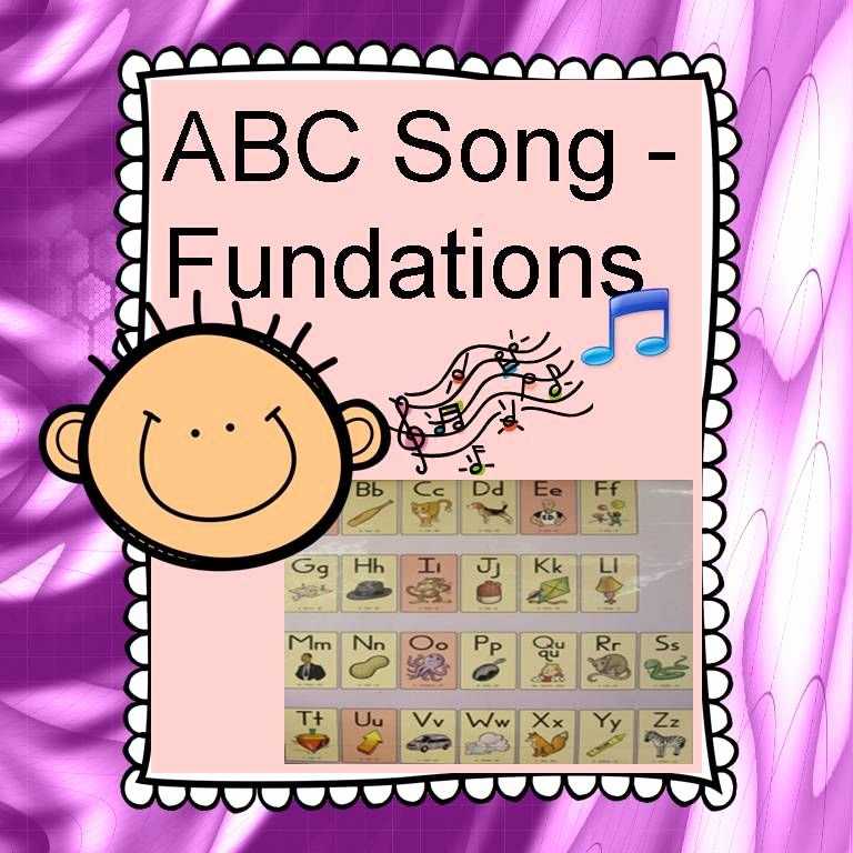 "Wilson Fundations Lesson Plan Template Beautiful Here's the Fundations Abc Chart In A song ""a Apple A …b"
