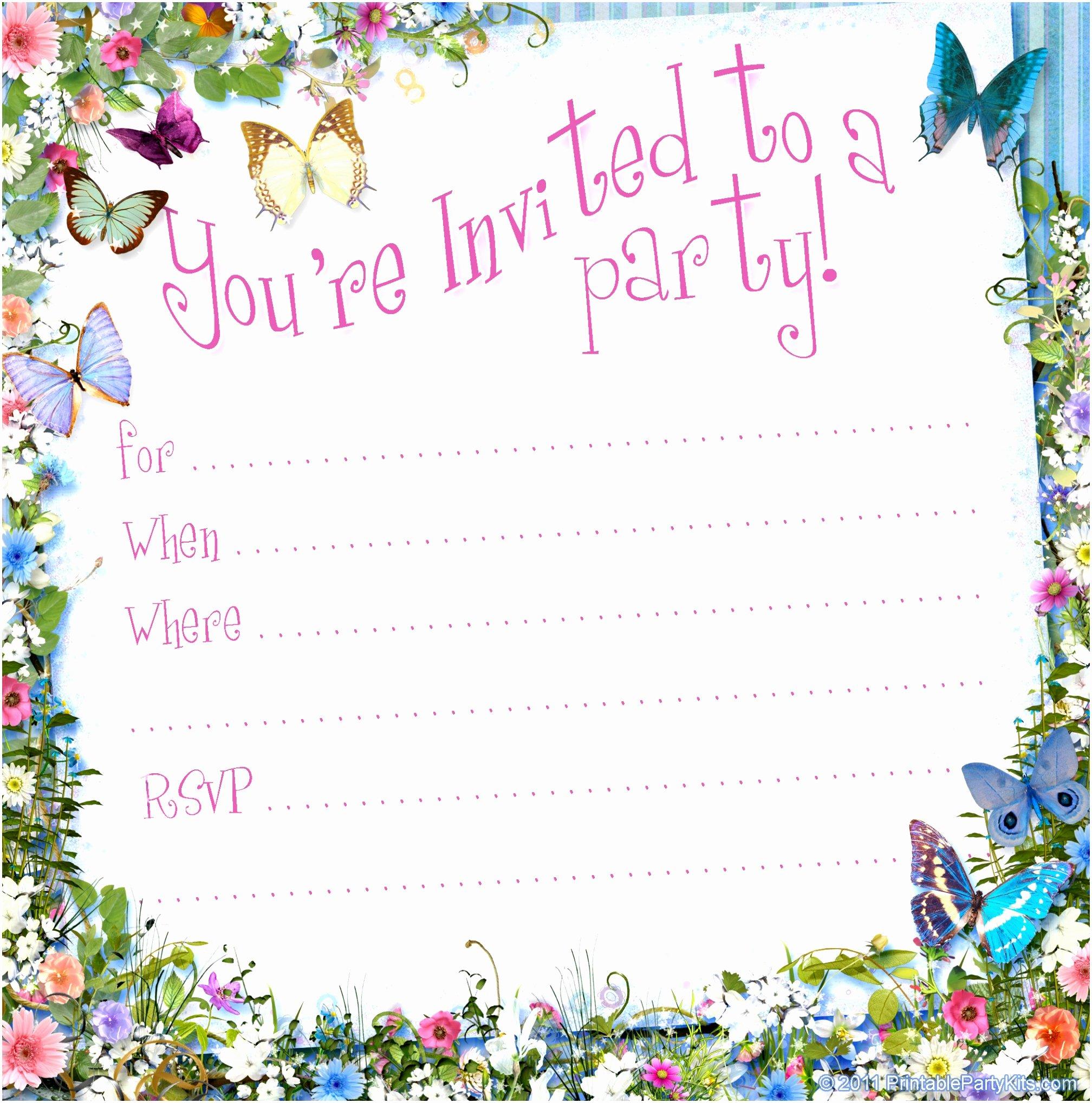 Word Invitation Template Free Beautiful Invitation Templates Word Printable Free Blank Invitation