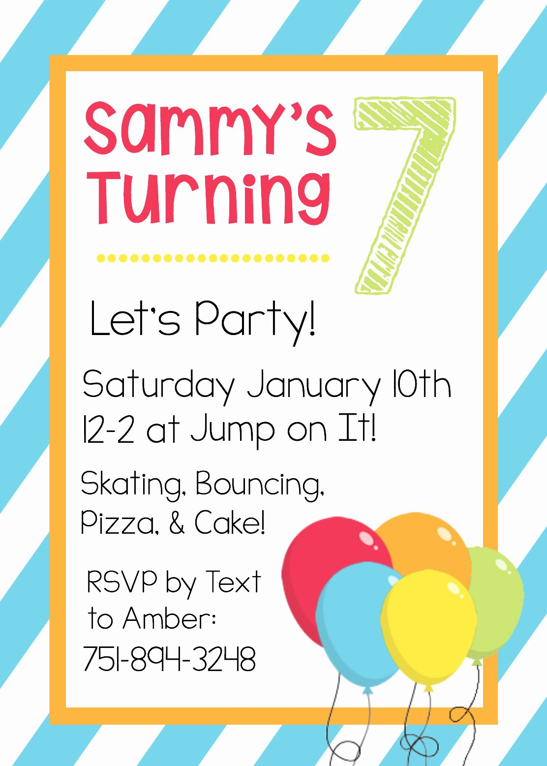 Word Invitation Template Free Fresh Free Printable Birthday Invitation Templates