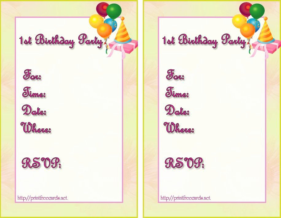 Word Party Invitation Template Elegant Birthday Invitation Templates Birthday Invitation