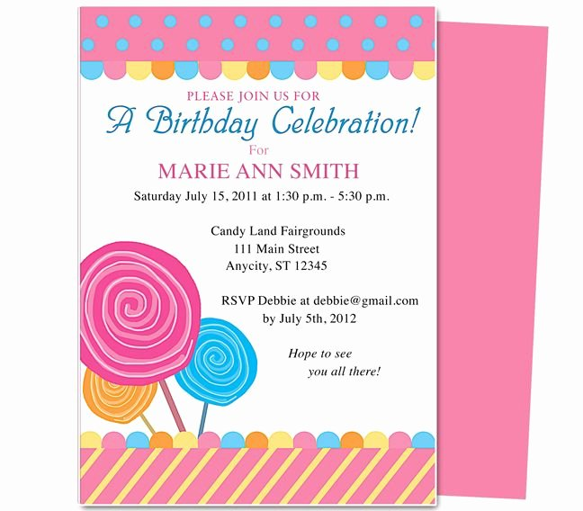 Word Party Invitation Template Elegant Pin by Paulene Carla On Party Invitations