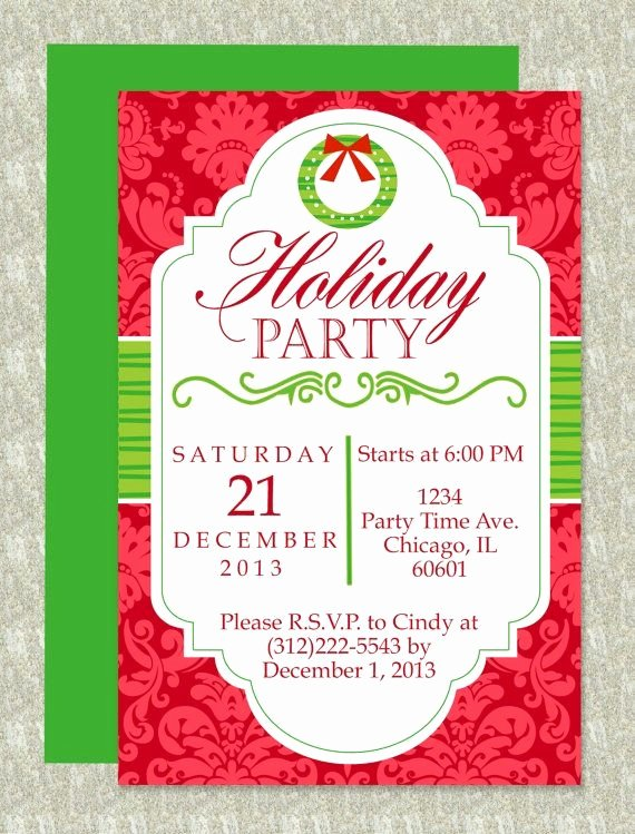 Word Party Invitation Template New Inspiring Free Elegant Holiday Invitation Templates