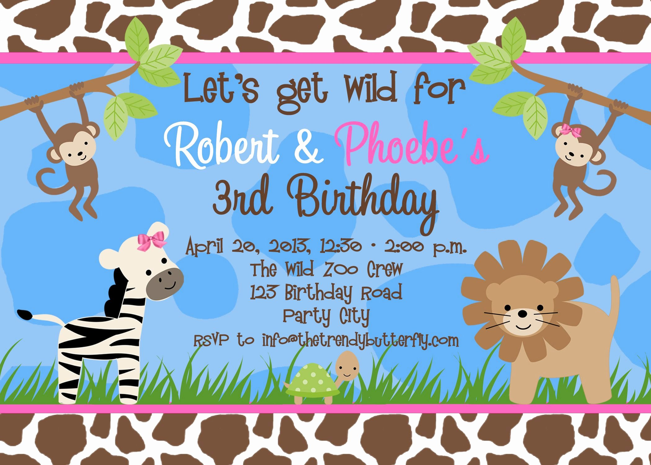 Word Party Invite Template Awesome Birthday Party Invitation Template Birthday Party