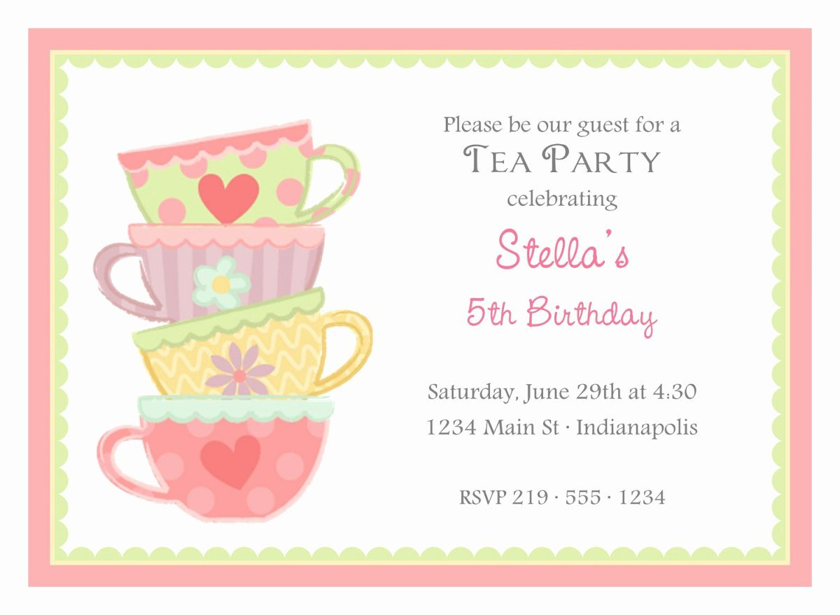 Word Party Invite Template Awesome Free Birthday Invitation Templates for Word