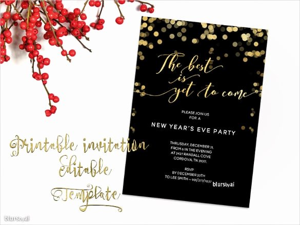 Word Party Invite Template Unique Free Holiday Party Invitation Templates Word