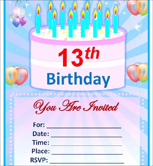 Word Template for Invitations Elegant Sample Birthday Invitation Template 40 Documents In Pdf