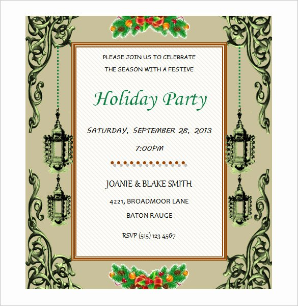 Word Template for Invitations Inspirational 50 Microsoft Invitation Templates Free Samples