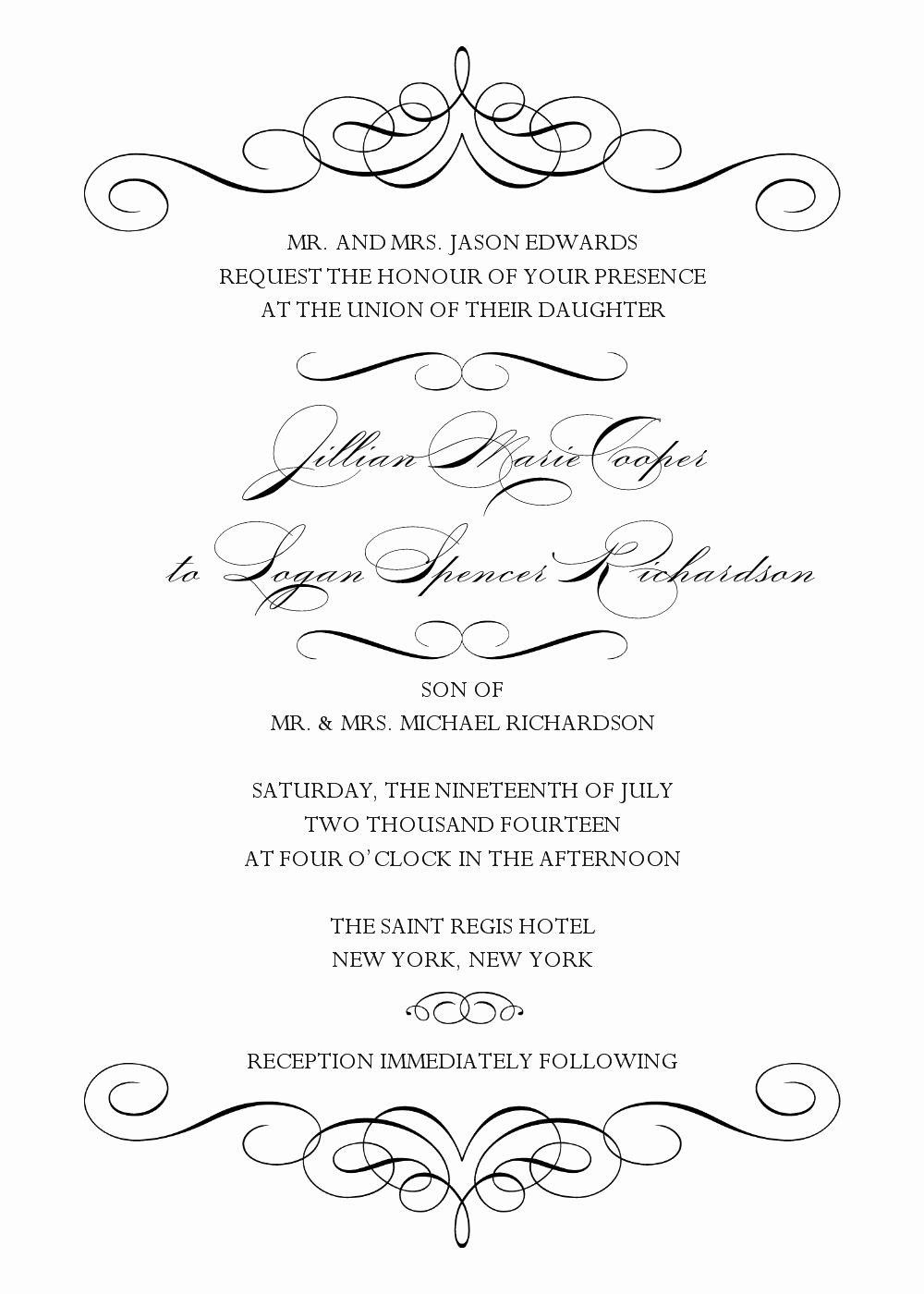 Word Wedding Invitation Template Best Of Wedding Invitation Wedding Invitation Templates Word