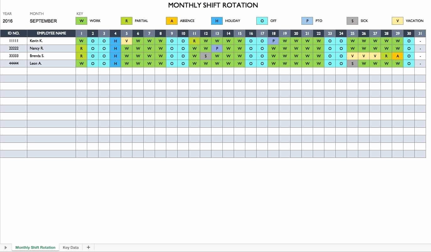 Work Schedule Calendar Template Luxury Free Work Schedule Templates for Word and Excel Smartsheet