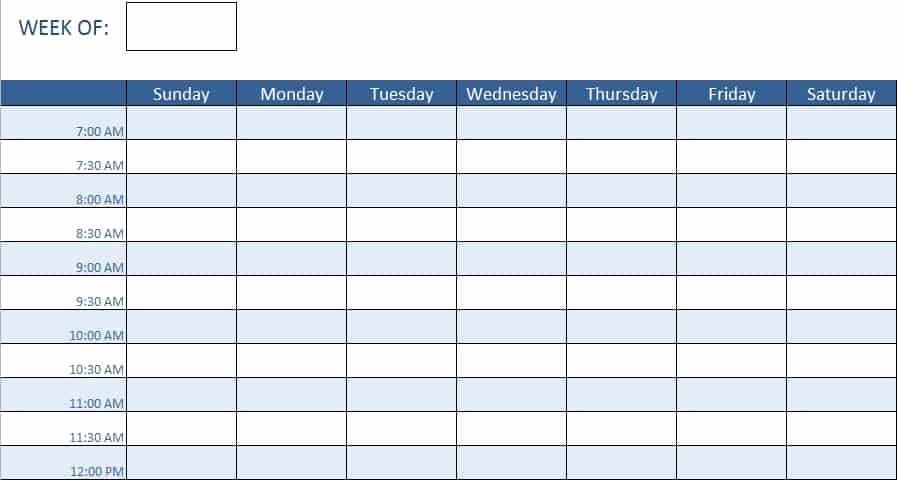 Work Schedule Template Excel Elegant Free Human Resources Templates In Excel