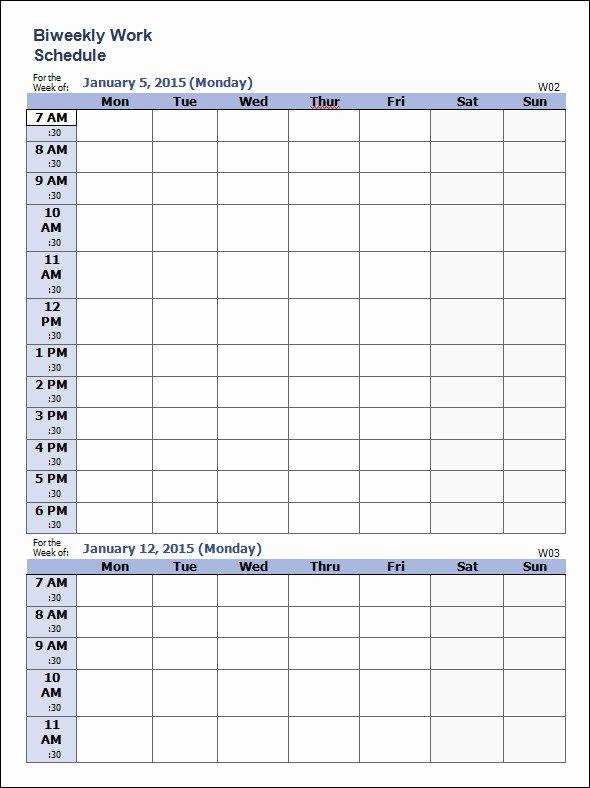 Work Schedule Template Word Elegant Free 37 Sample Weekly Schedule Templates In Google Docs