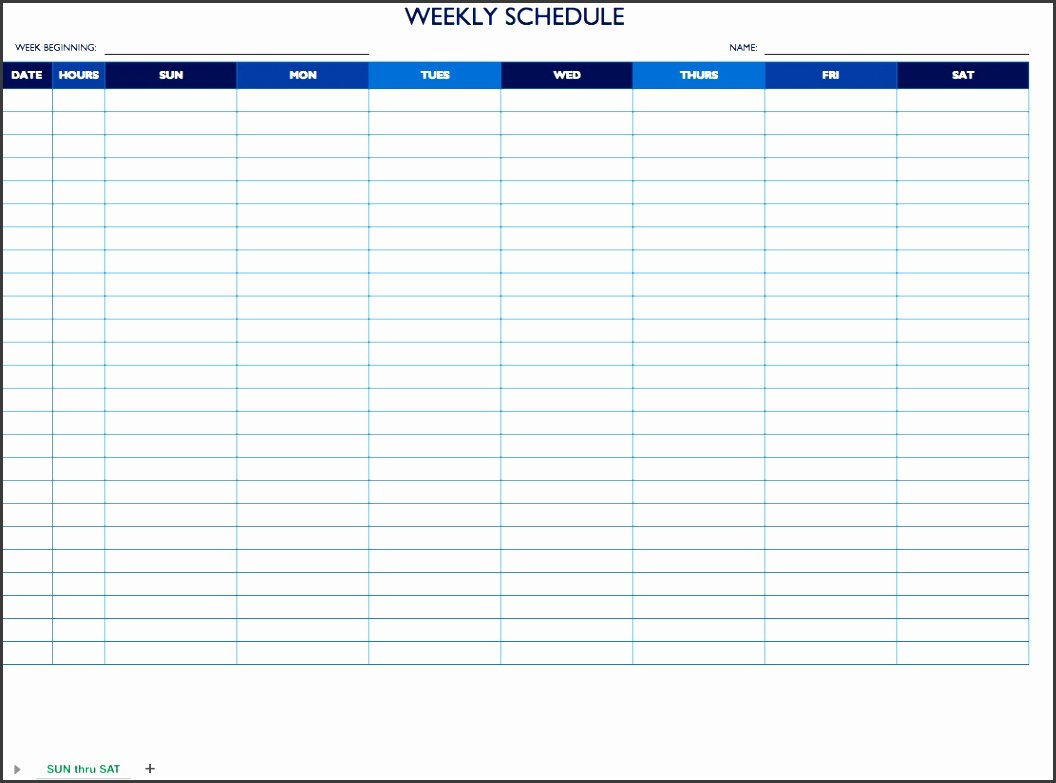 Work Schedule Template Word New 9 Daily Work Schedule Template In Ms Word