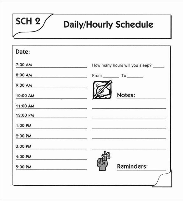Work Schedule Template Word Unique 19 Daily Work Schedule Templates & Samples Docs Pdf