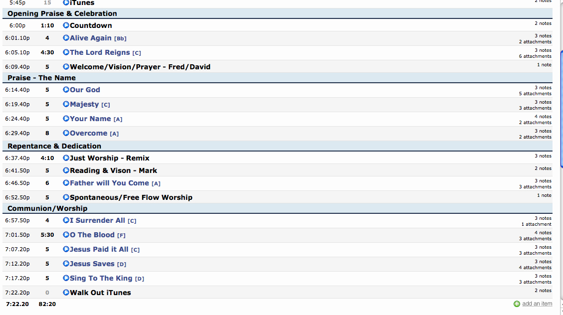 Worship Service Planning Template Fresh Church Worship Planning Template the Best Free software