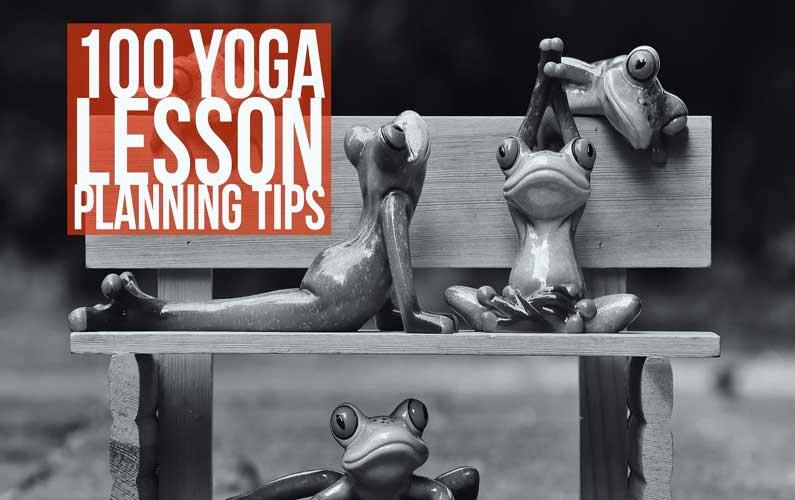 Yoga Class Plan Template Elegant 100 Yoga Lesson Planning Tips
