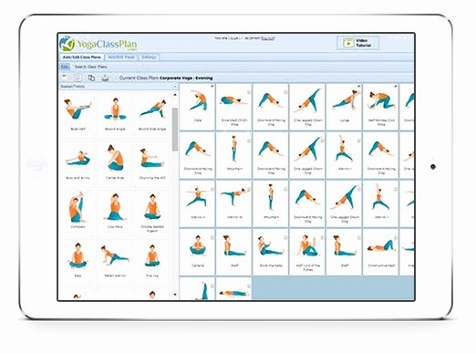 Yoga Class Planning Template Best Of Yoga Pose Sequence Builder An App Designed for Yoga Teachers