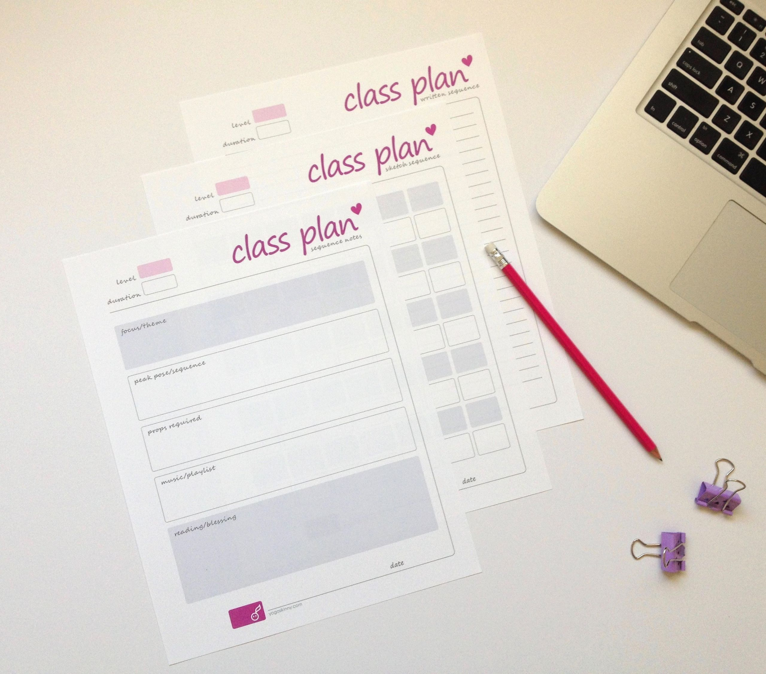 Yoga Class Planning Template Luxury Yoga Class Planning for Yoga Teachers