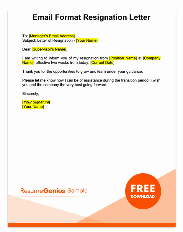 2 Weeks Notice Email Template New Pay Less Notice Letter Template Tutore