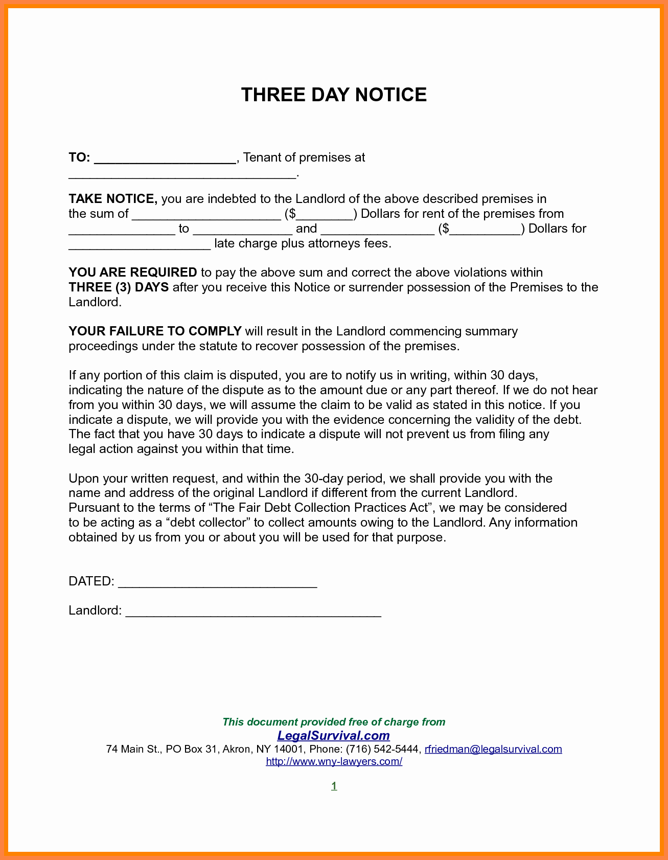 30 Day Notice California Template Elegant 10 Example Of 30 Day Notice to Tenant