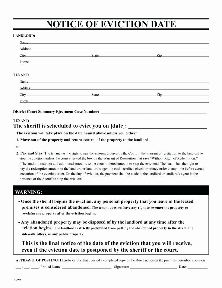 30 Day Notice oregon Template Fresh 30 Day Eviction Notice form oregon