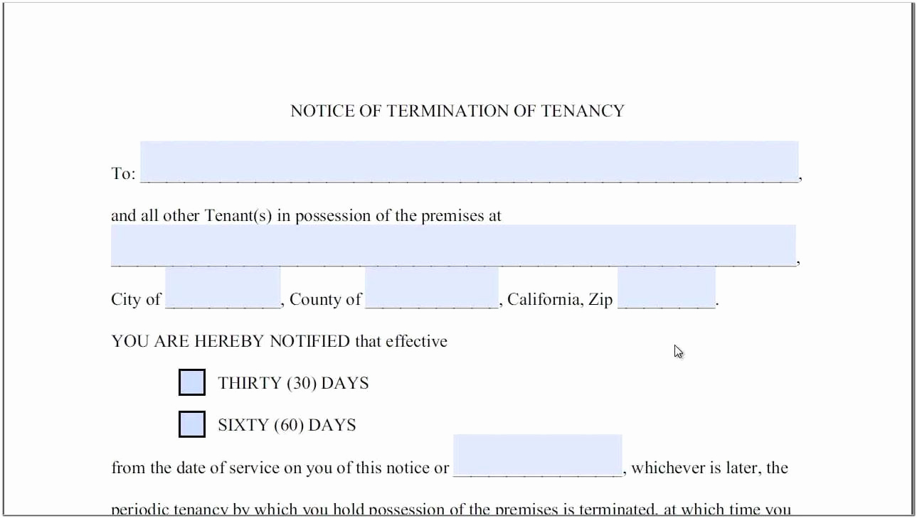 60 Day Eviction Notice Template New California Notary Seal Template Templates Template
