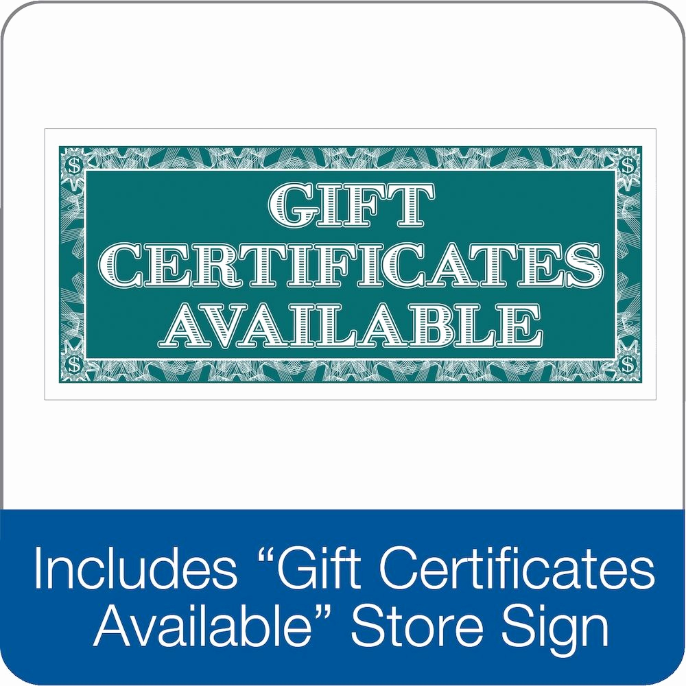 Adams Gift Certificate Template Awesome Adams Gift Certificate 2 Part Carbonless 25 Numbered