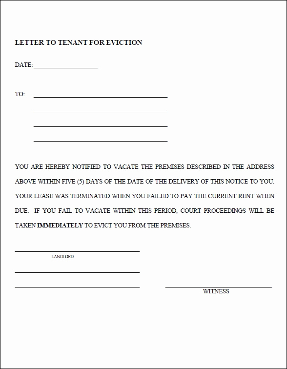 Alabama Eviction Notice Template Unique Eviction Notice Sample Free Printable Documents