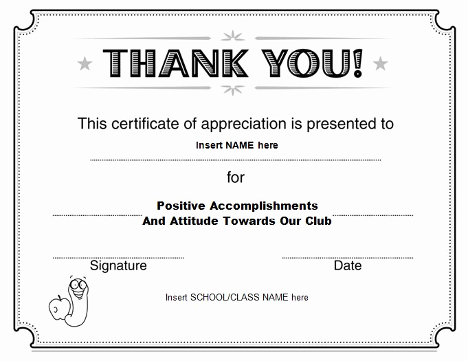 Appreciation Certificate Template Free Beautiful 31 Free Certificate Of Appreciation Templates and Letters