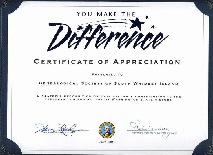 Appreciation Certificate Template Free Best Of Thank You Certificates for Volunteers