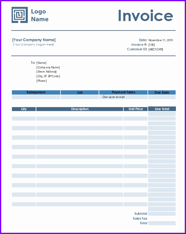 Automotive Repair Invoice Template Unique Auto Repair Invoice Template Exceltemplates