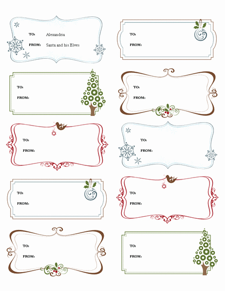 Avery Gift Certificate Template Fresh Gift Tag Template Word – Emmamcintyrephotography