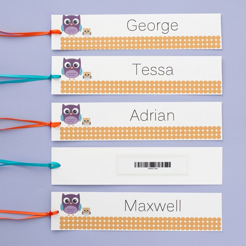 Avery Gift Certificate Template Lovely these Bookmarks Would Be A Fun T for Teachers or