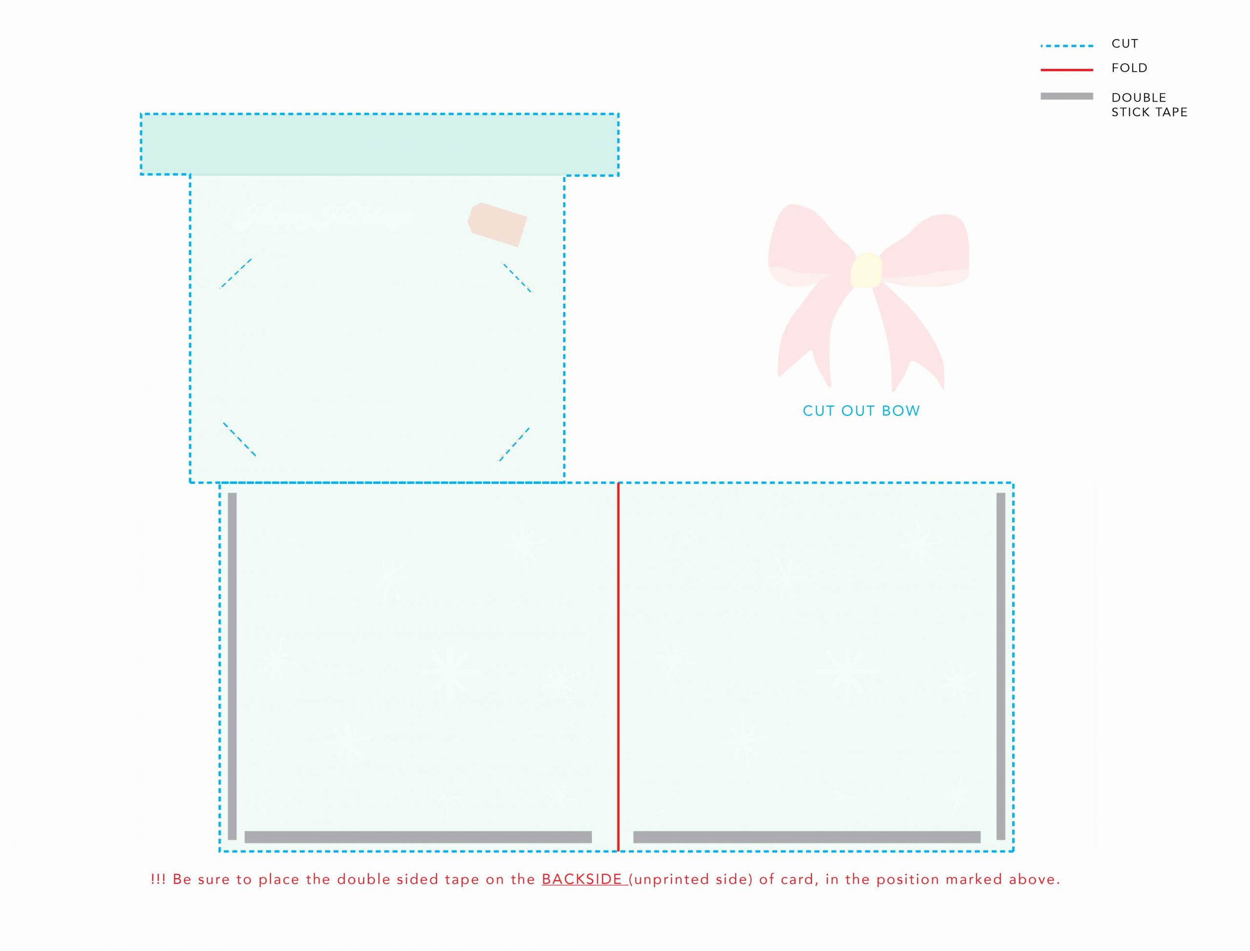 Avery Gift Certificate Template New Printable Holiday Gift Card Holder with Gift Certificate