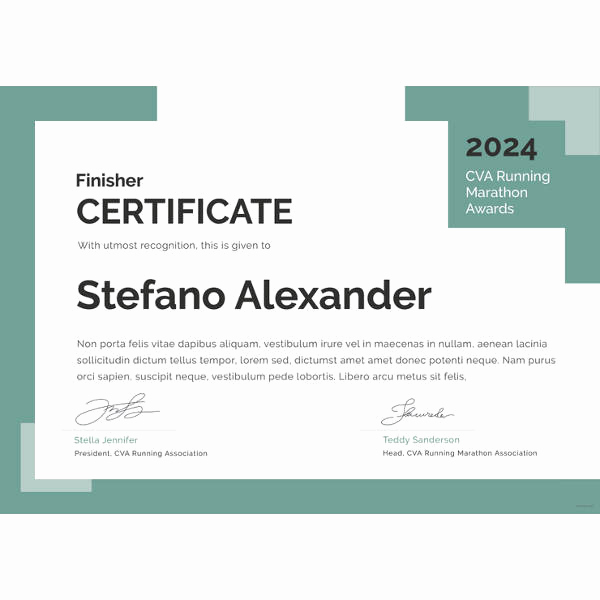 Award Certificate Template Free Download Luxury Award Certificate Template 39 Word Pdf Psd format