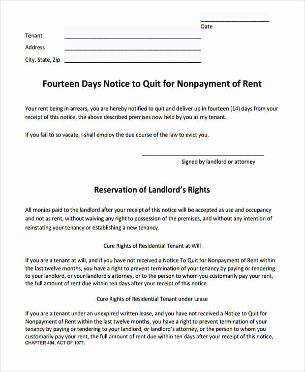 Baby Eviction Notice Template Awesome 31 Printable Eviction Notices Google Docs Ms Word